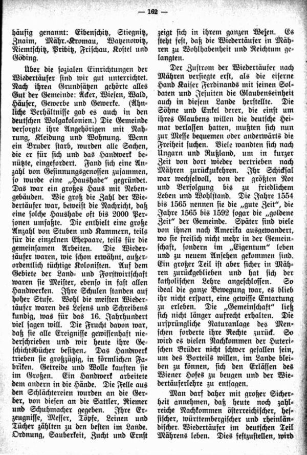 Die Geschichtsbücher der Wiedertäufer als familiengeschichtliche Quellen - 3