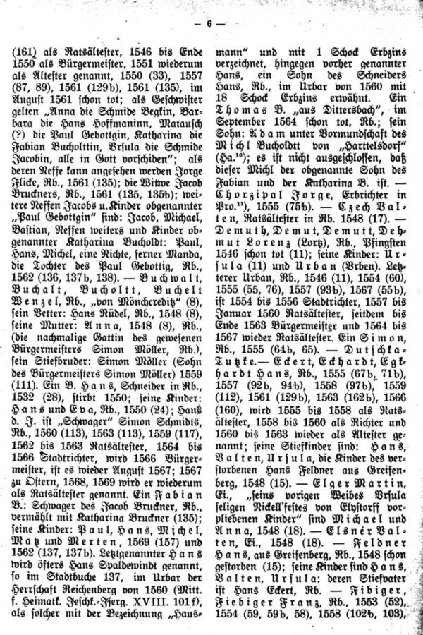 Quellen zur Familiengeschichte des Jeschken-Isergaues. 1. Das älteste Stadtbuch von Reichenberg - 3