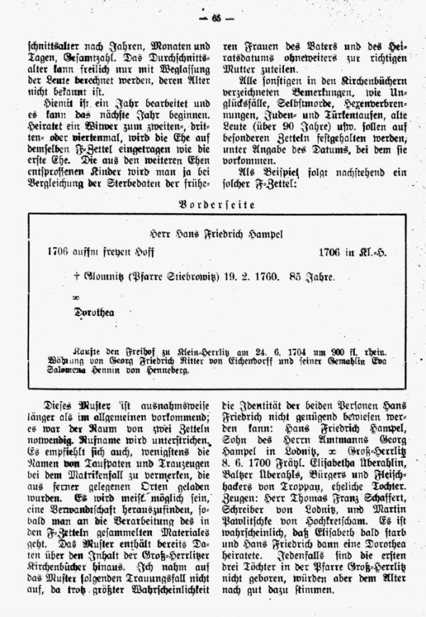 Die Kirchenbücher der Pfarre Groß-Herrlitz bei Tropau von 1646 bis 1. Mai 1784 - 3