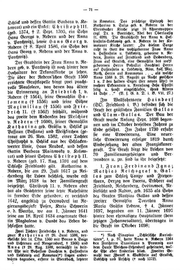 Grabsteine adeliger Herrschaftsbesitzer, Lehensmänner und Beamter im Iser-Jeschkengau - 2