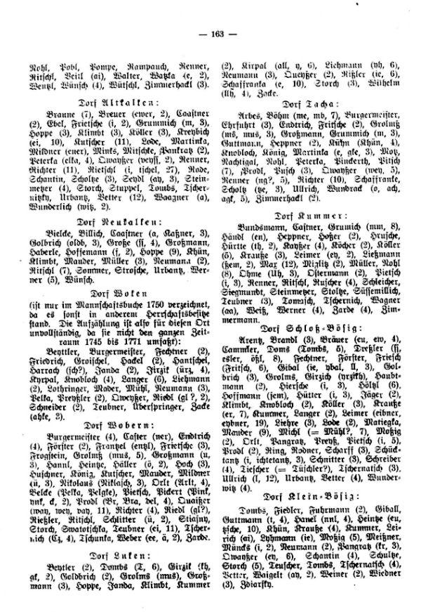 Die Mannschaftsbücher der Herrschaft Hirschberg in den Jahren 1745-1771 - 3