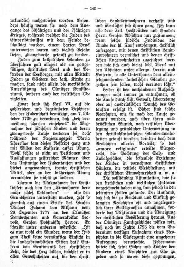 Judentaufen in Mähren-Schlesien während der letzten Regierungsjahre Maria Theresias - 2