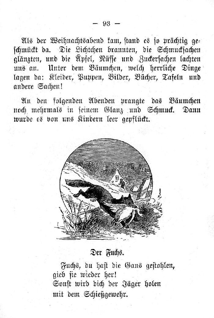 Deutsche Fibel -Der Fuchs