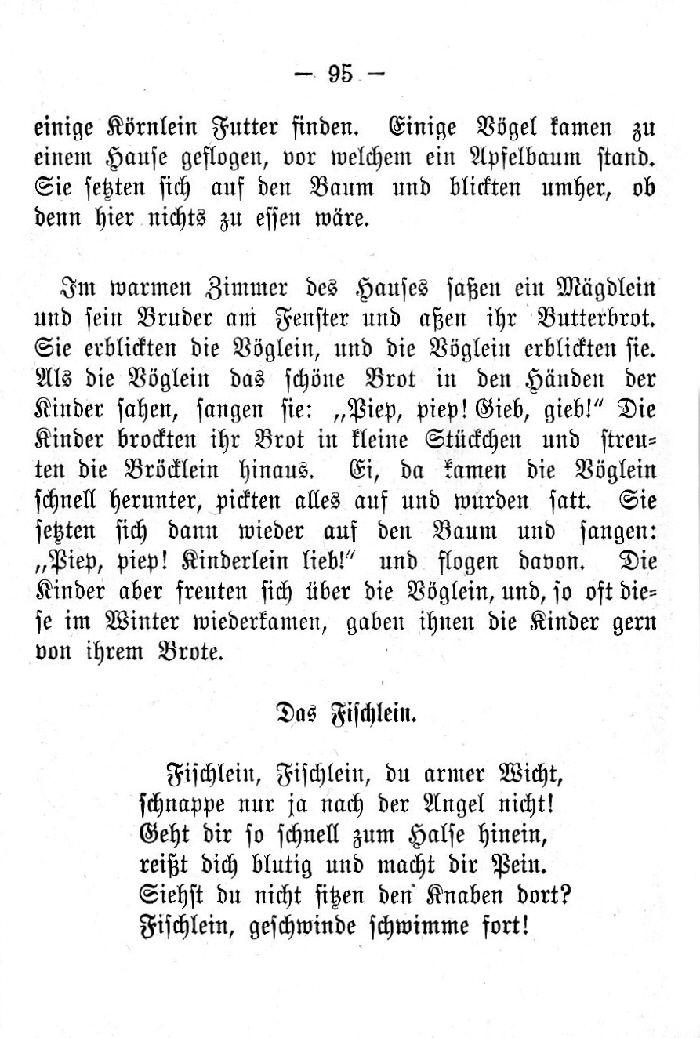 Deutsche Fibel -Das Fischlein