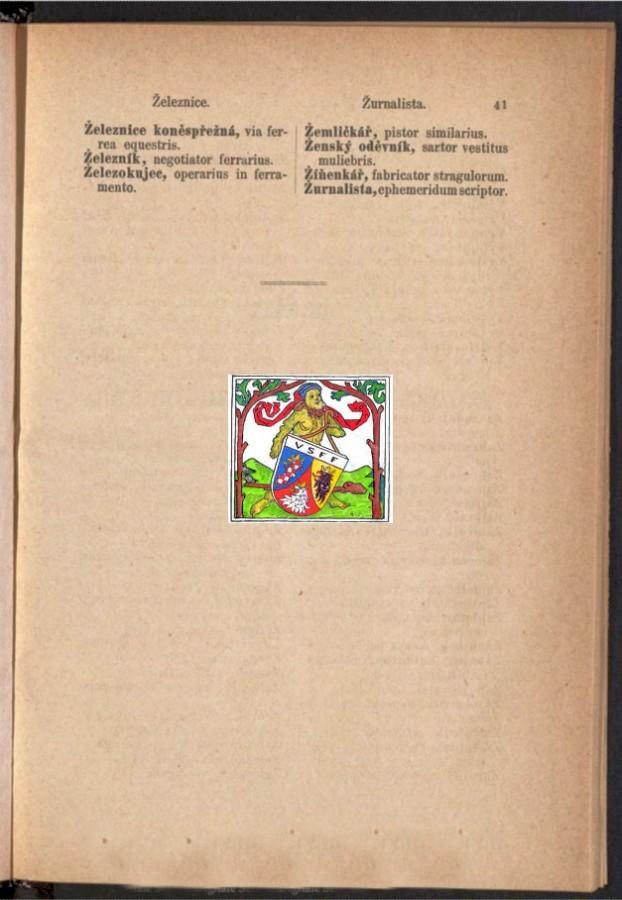 Teil 2 Böhmisch - Latein / von 'Železnice ' bis 'Žurnalista '